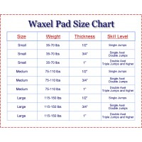 Waxel size chart